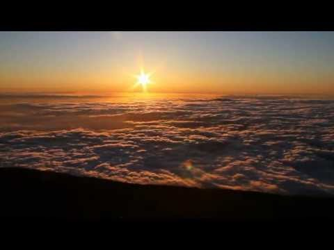 Sunrise and Sunset over Haleakala; Maui, Hawaii