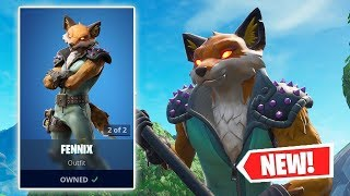 NEW FENIX SKIN IN THE FORTNITE STORE!