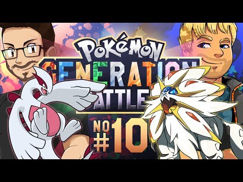 Pokemon Generation Battle w/ Dobbs [GEN 2 VS. GEN 7] (SUMO)