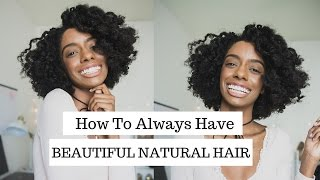 How to Always Have Beautiful Natural Hair