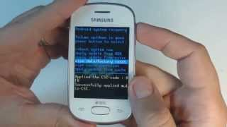Samsung Galaxy Star S5282 hard reset