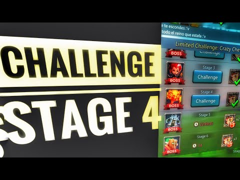Lords Mobile - Limited Challenge Stage 4