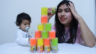 Learn Colors & Number with Slime Rufi Play with Mummy