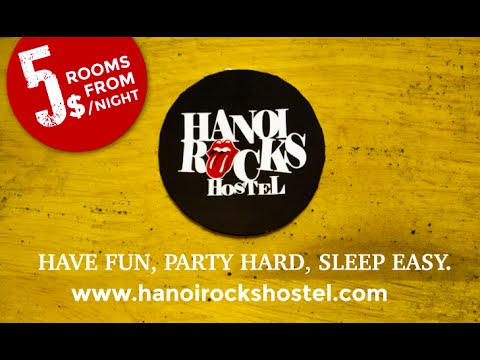 Hanoi Rocks Hostel Promotion Video Eliasbranch Ch