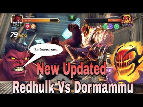 Rank 5 Redhulk vs Dormammu Alliance Quest Boss | Marvel Contest of Champions