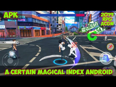 A Certain Magical Index Android Gameplay    Anime RPG Game