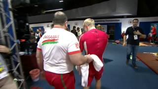 RYBAKOV Andrei 3s 179 kg cat. 85 World Weightlifting Championship 2013