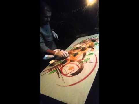 Chef's Canvas of Desert!