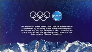 Channel Ten - Sochi 2014 Winter Olympic Games Opening Title (February 2014)
