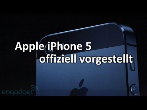 Apple iPhone 5 offiziell vorgestellt   SwagTab