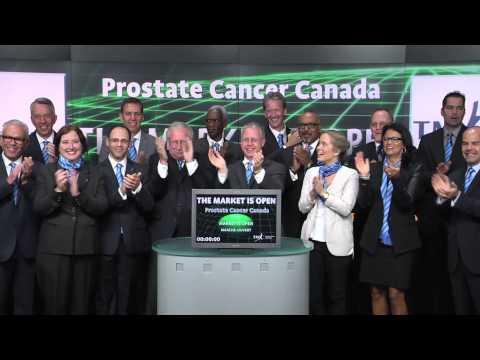 Prostate Cancer Canada opens Toronto Stock Exchange, September 29, 2014.