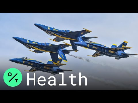 Navy's Blue Angels Conduct Flypast Over Dallas, Houston to Honor Texas First Responders