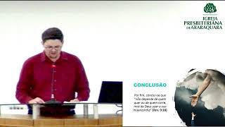 A Maravilhosa Misericórdia de Deus - Jonas 4.1-11 - Rev. Thiago Santos