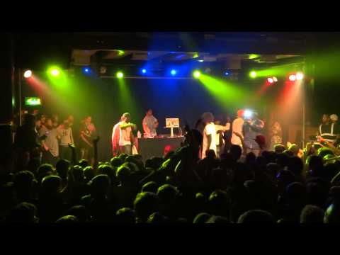 DANNY BROWN - Blueberry (Pills & Cocaine) - Live@Scala - London, June 11, 2013