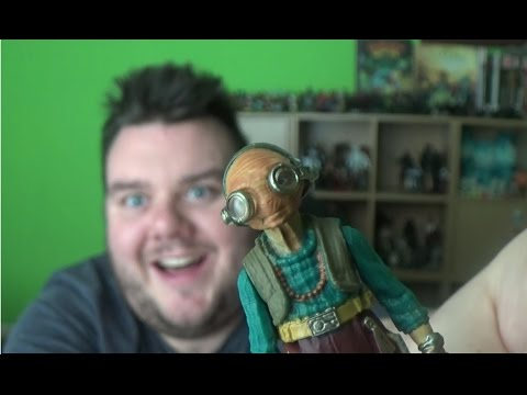 "Star Wars: The Force Awakens 3.75"" Takodana Encounter With Maz Kanata Hasbro Toy Unboxing Review"