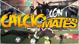 Centra il cestino challenge - calcio con i mates e i2bomber