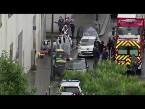 Paris knife-attack suspect says he targeted Charlie Hebdo