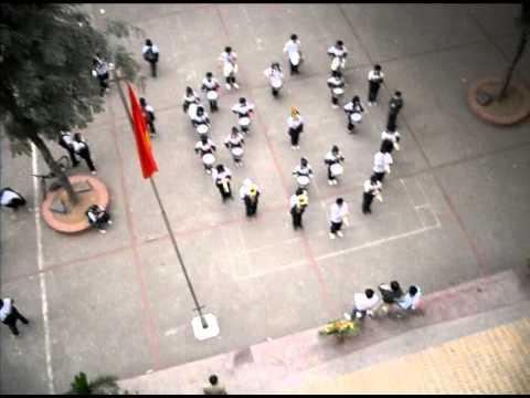 Đội Nghi lễ trường THCS Thăng Long - Hoa thơm dâng Bác