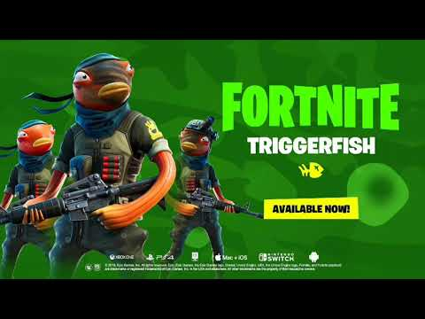 *NEW* Official Triggerfish Skin Official Trailer! Fishstick Skin!