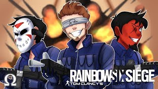 A WILD DELIRIOUS APPEARS! (SIEGE SQUAD) | Rainbow Six Siege Ft. Delirious, Cartoonz