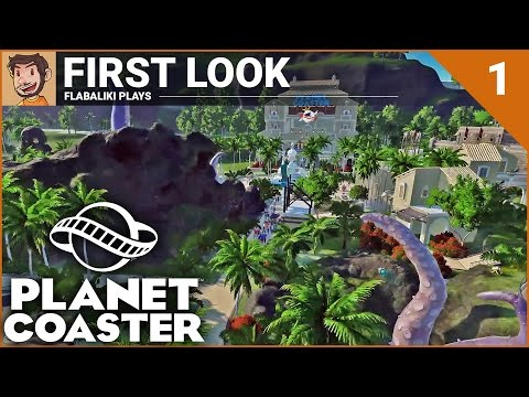 Planet Coaster - First Look Stream - Part 1