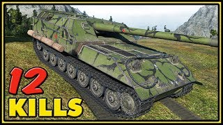Object 263 - 12 Kills - (9.21) World of Tanks Gameplay