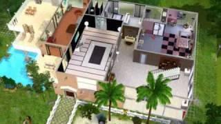 Joli maison sur sims 3