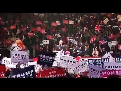 Download PENCE Speech at MASSIVE Trump Rally - Manchester, NH - 11/07/16