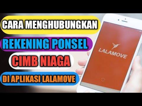 Cara Menghubungkan Rekening Ponsel Cimb Niaga Lalamove Ke Aplikasi Driver Youtube