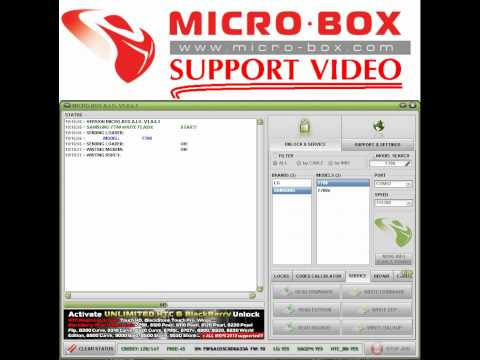 SAMSUNG F700 WRITE FLASH BY Microbox