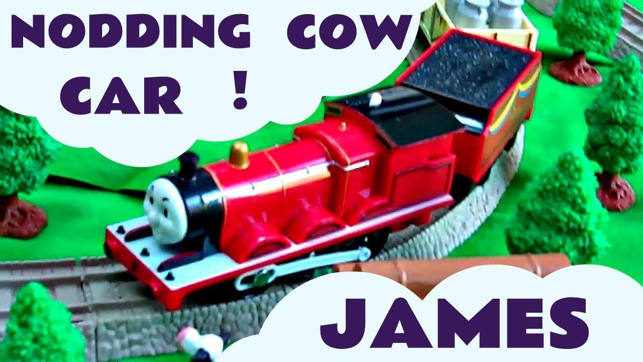 Tomy Trackmaster Thomas The Train James Amp Nodding Cow Kids