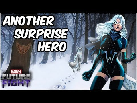 White Fox Sneak Peek! How Strong Will She Be?  Marvel Future Fight