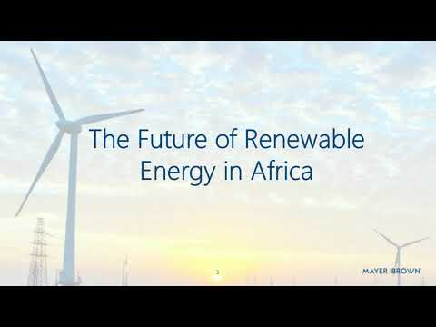 Renewables in Africa - the Next Big Wave?