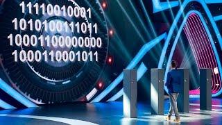 Шоу «Удивительные люди». Тимур Гумиргалиев. Человек-декодер