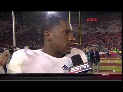 Nov 24, 2012: ESPN's Mark May gets his comeuppance!