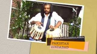 PAKISTANI PATRIOTIC TABLA AUG 14th 2015 by Aqeel.
