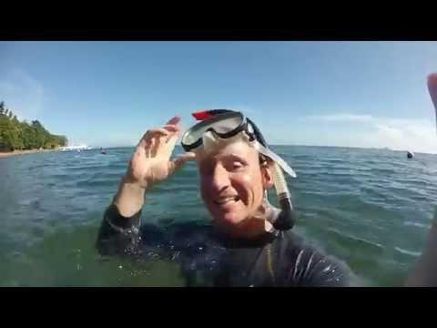 Snorkeling at  Dauin Marine Sanctuary - Philippines Expat