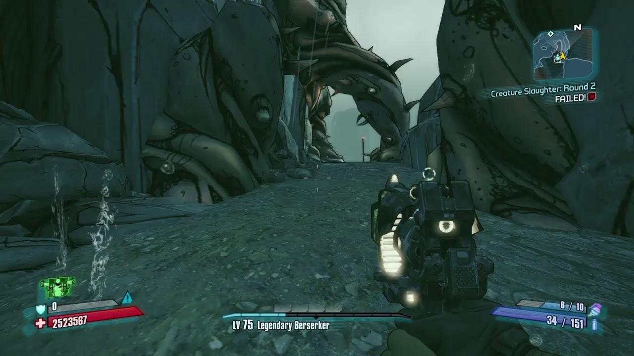 Bl2 Haderax The Invincible