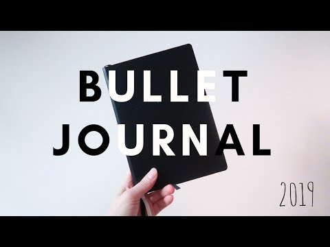 Creating a 2019 Bullet Journal to Battle Depression