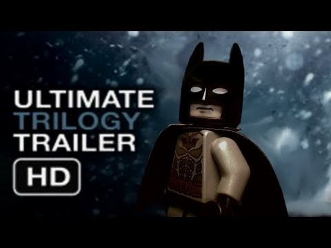The Dark Knight Rises Ultimate Trilogy Trailer - IN LEGO