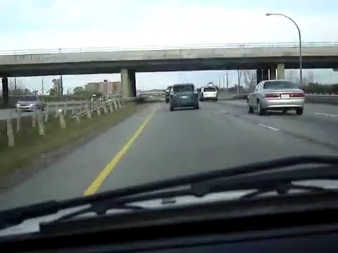 Drive through Ottawa