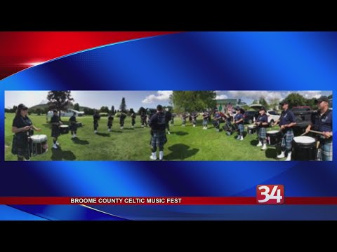 Broome County Celtic Music Fest comes to Chenango Bridge this weekend