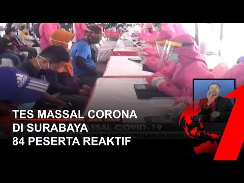 Jadi Peringkat Tertinggi Penyebaran Corona, Surabaya Tes Massal Corona, 84 dari 500 Peserta Reaktif