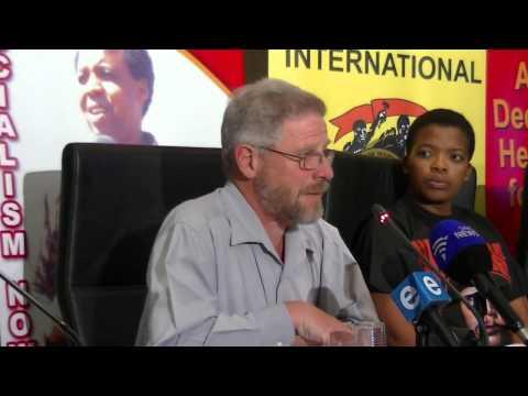 6 Sept   Jay Naidoo  Swaziland return   COSATU Press Conference