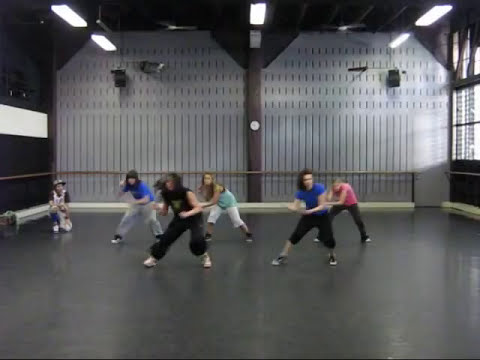 """Moving Mountains"" Hip Hop class with Yolanda Thomas - Sydney Dance"