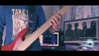 Gambar cover L'Arc~en~Ciel – Don't be Afraid -English version (BASS 4K cover by tetsuyanao) with LYRICS