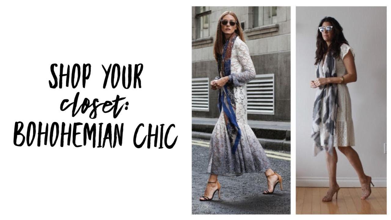 Shop Your Closet: Bohemian Chic | Minimalism | Fashion Envy With A Capsule  Closet