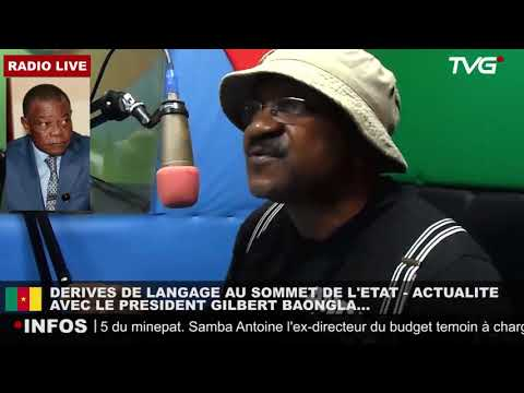 Le Pésident des Républicains Gilbert BAONGLA sur RBN Radio