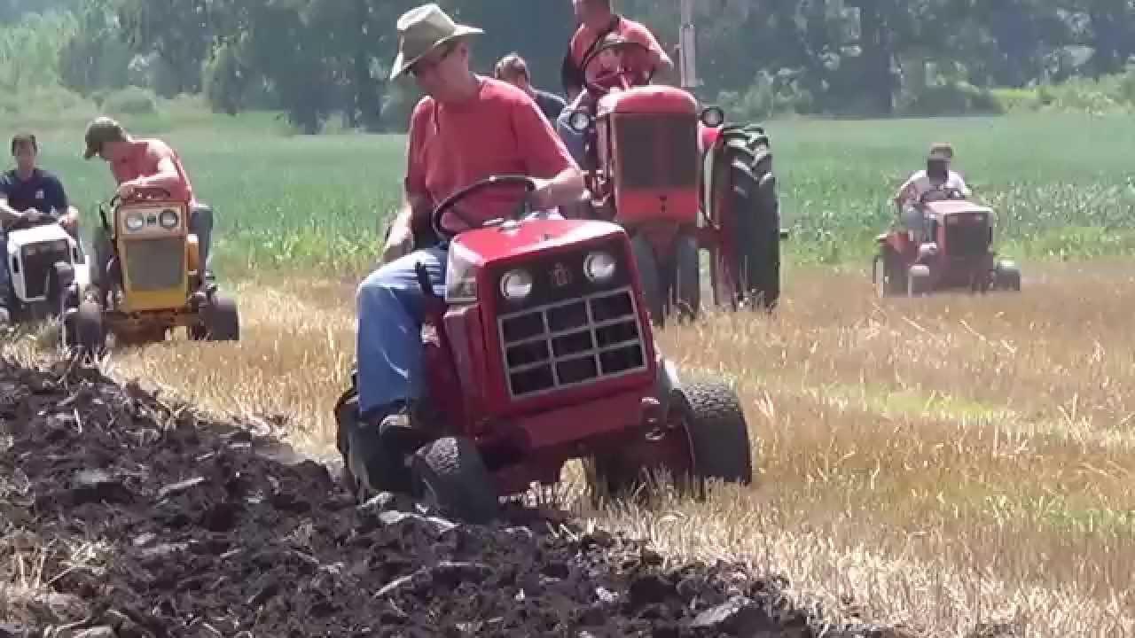Garden Tractor Garden Plow : Stertz plow day garden tractors and brinly youtube