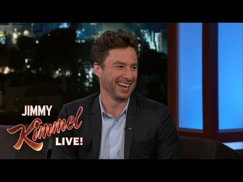 Zach Braff is Helping Russians with Erectile Dysfunction